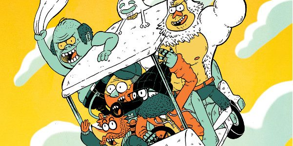 Discover The Future of Mordecai, Rigby & More from BOOM! Studios in June 2018 BOOM! Studios and Cartoon Network are proud to announceREGULAR SHOW: 25 YEARS LATER #1, the first […]