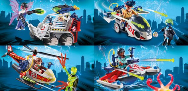 "Busting out onto store shelves in April is PLAYMOBIL The Real Ghostbusters Mission Packs. Styled after the popular cartoon series, ""The Real Ghostbusters"", each Ghostbusters figure is equipped with ghostbusting […]"