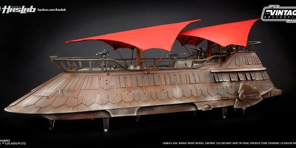 Last month at Toy Fair, Hasbro launched a new campaign called HASLAB that hopes to put dream products into the hands of fans, starting with the biggest Star Wars vehicle […]