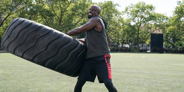 Luke Cage shows off his superhero strength by competing in the physical and mental tests of the combine event, similar to the one that college football players have gone through […]