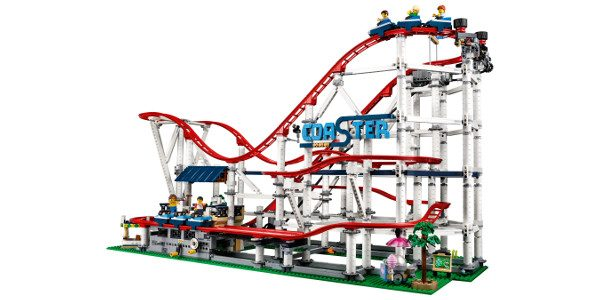 The thrills and excitement of the ultimate fairground attraction is brought to life with this chain-lift Roller Coaster featuring a wealth of brick-built details, 11 minifigures and the ability to […]