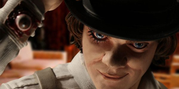 """Mezco presents A Clockwork Orange 12"""" Alex DeLarge,leader of the Droogs. Direct from Stanley Kubrik's cult classic, A Clockwork Orange, comes theAlex DeLarge 12"""" scale figure featuring 9 points of […]"""