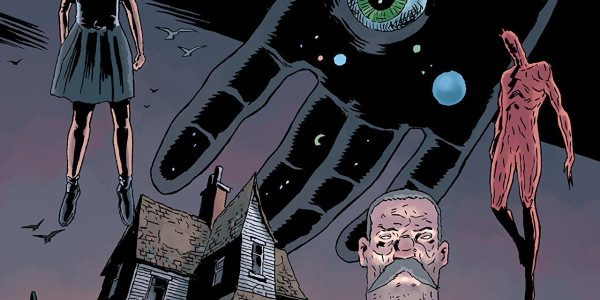If you like reading creepy books, and apparently I do, since I keep reviewing them, you will love Black Hammer, Age of Doom from Dark Horse. Issue #1 has a […]