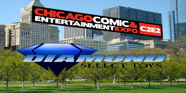 It's that time of year again, when fans from all over head for Chicago, for the Chicago Comic and Entertainment Expo, a.k.a. C2E2! Diamond Select Toys will be there as […]