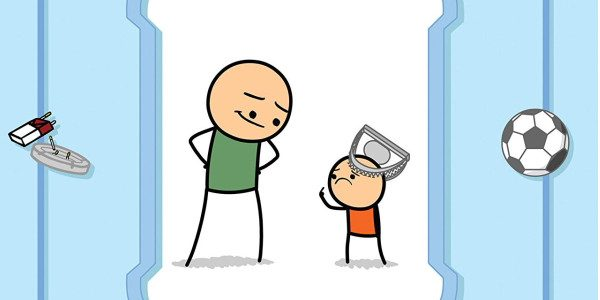 Go read This!! READ THIS NOW!!! I absolutely loved this comic it is hilarious. I have seen some strips from Cyanide & happiness on Facebook and the like before so […]