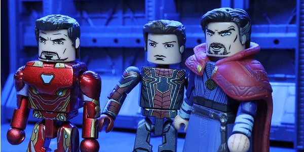 The battle rages on! The first Diamond Select Toys products based on Avengers: Infinity War have conquered stores, with box sets at comic shops, and two-packs at comic shops and […]