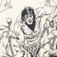 Concluding the run of Joe Kubert Tarzan Artist's Edition is Tarzan and the Lion Man, from IDW.