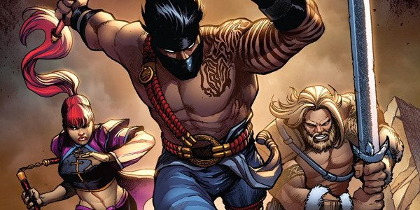Dynamite Comics continues with its action-packed fighting game comic of Killer Instinct on its sixth issue. The adventures continue with the fighters traveling to the afterlife to fight demons on […]