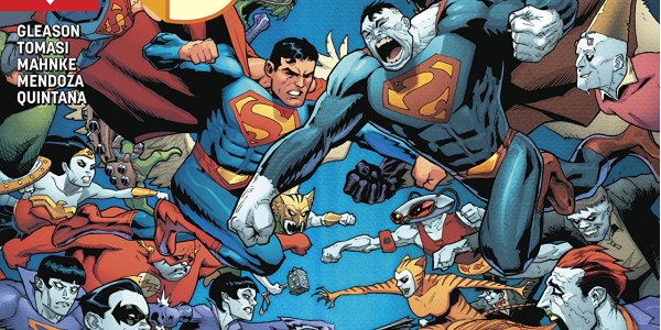 Here we are! Superman issue 44! The conclusion to the Bizarroverse arc!!! As Superman dukes it out against Bizarro, Superboy, Kathy, Nobody, Boyzaro and the rest of the gang attempt […]