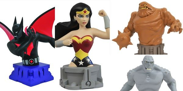 The long-running resin bust series for the DC Animated Universe has been going on for a few years now, and Diamond Select Toys has turned out a wide variety of […]