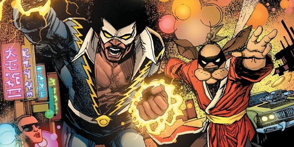 It's 'DC Comics meets Hanna Barbera' again, in Black Lightning/Hong Kong Phooey #1. For those of us too young (or too old) to have experienced the Hong Kong Phooey TV […]