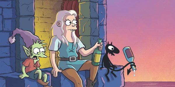 "Disenchantment. Dis August. "" order_by=""sortorder"" order_direction=""ASC"" returns=""included"" maximum_entity_count=""500″] From the mind of Matt Groening, comes adult animated comedy fantasy series, Disenchantment, with 10 episodes launching on Netflix, August 17, 2018. […]"