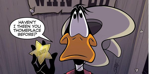 Looney Tunes #243, from DC, combines traditional characters and laughs for today's all ages reader. First up in this issue is 'West, Whirled', with Daffy Duck and Elmer Fudd, heading […]