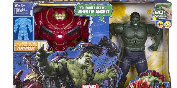 In celebration of Avengers: Infinity War, Hasbro revealed the new Hulk Out Hulkbuster Figure this morning. MARVEL AVENGERS: INFINITY WAR Hulk Out Hulkbuster Figure (HASBRO/Ages 4 years & up/Approx. Retail […]