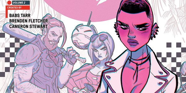 It's another Motor Crush trade from Image. This one is Volume 2 and collects issues 6-11 of the Motor Crush comic title. Writers Brenden Fletcher, Cameron Stewart, and artists Cameron […]
