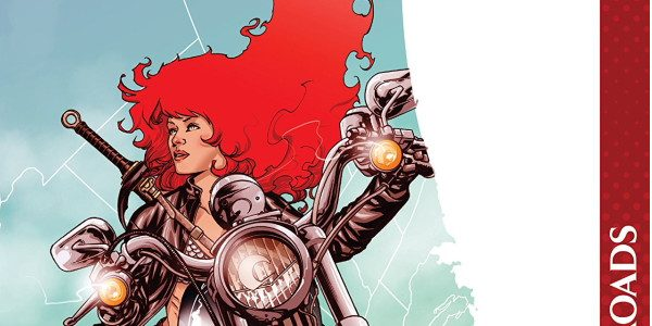 From Dynamite comes Volume 2 of Red Sonja: Worlds Away. The volume consists of two stories: first is Back Roads, written by Amy Chu, with art by Carlos Gomez, colours […]