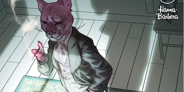 I'm old enough to remember laughing at Hanna Barbera's Snagglepuss cartoons on TV. DC's Snagglepuss #5, however, is serious stuff. Snagglepuss, in this issue, is doing his best to stand […]