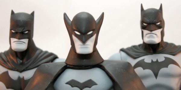 DC Collectibles line of best selling black and white statues are now action figures