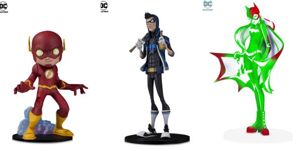 "New Designer Vinyl Figures Include Chris Uminga's Re-Imagining of The Flash, HaiNaNu ""Nooligan"" Saulque's Contemporary Design of Nightwing and Sho Murase's Stunning Take on Batgirl With just a month away […]"
