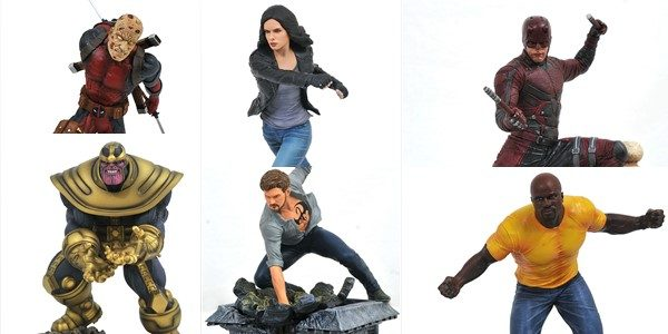 "Who's in your Gallery? The Marvel Gallery line of PVC Dioramas has taken the collectible world by storm, offering collectors quality 9"" scale sculptures of their favorite Marvel heroes at […]"