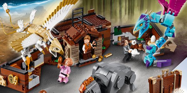 Today, LEGO® unveiled two new building sets – LEGO® Harry Potter™ Aragog's Lair and LEGO® Fantastic Beasts™ Newt's Case of Magical Creatures – which will be available in August. 75950 […]