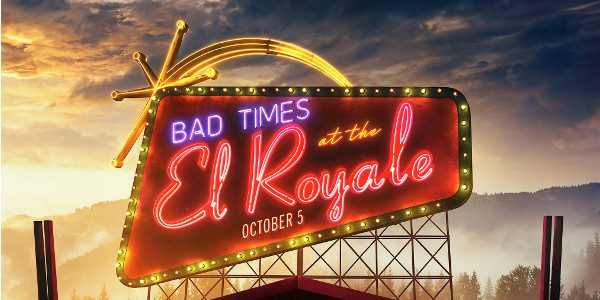 Welcome to the El Royale. 20th Century FOX has released the first trailer and official poster for BAD TIMES AT THE EL ROYALE, the story of seven strangers who meet at Lake Tahoe's […]