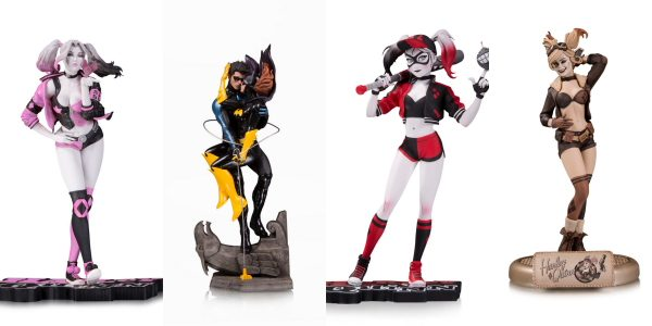 DC Collectibles announced today four new statues hitting stores in February 2019 featuring fan-favorite characters Harley Quinn, Nightwing and Batgirl. See below for more details and attached for imagery. Harley […]
