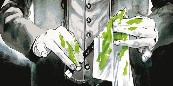 Dark Horse brings us Neil Gaiman's new book, A Study in Emerald. With a nod and a wink to Sherlock Holmes, this trade does it right. It's a murder investigation […]