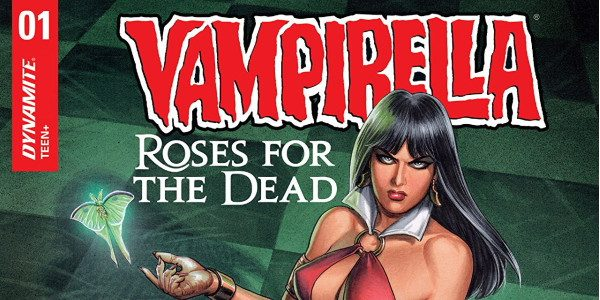 Just in time for Vampirella's 50th anniversary, writer Kristina Deak-Linsner and artist Joseph Michael Linsner team up to create issue 1 of Vampirella: Roses For The Dead, for Dynamite. Vampirella, […]