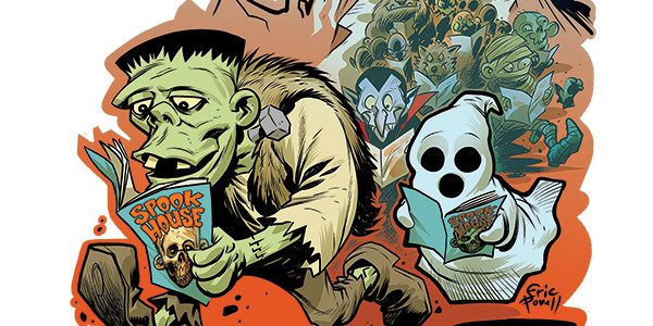 Diamond Comic Distributors is proud to reveal the artwork from Eisner Award-winning creator Eric Powell (The Goon, Spookhouse) for this year's Halloween ComicFest (HCF) 2018 commemorative T-shirt. The T-Shirt is […]
