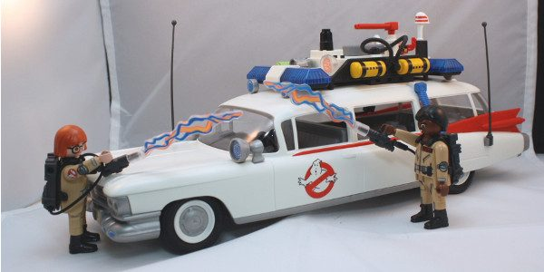 It's Ghostbusters Day. And is there a better way to celebrate than the Ghostbusters Ecto-1 from Playmobil