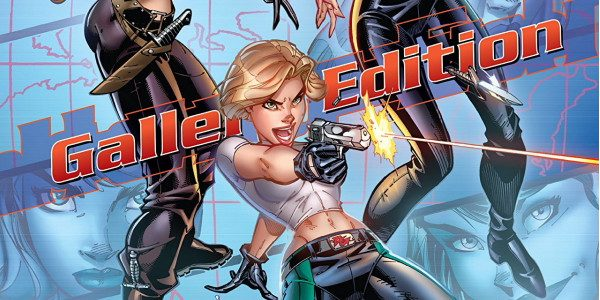 Bouncing, sliding, kneeling and vamping, it's Danger Girl! This IDW Gallery Edition (Prestige Format) of J. Scott Campbell's gun-totin' female character is a visual treat! It's not stories; it's full-page […]