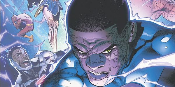 As Superman, Martian Manhunter, Batman, and Hawkgirl investigate the realm of the Totality, the rest of the Justice League are ambushed by Green Lantern, John Stewart!! Infected by the primal […]