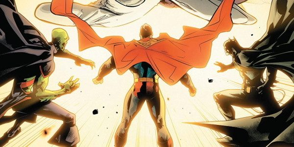 Deep into the Totality, the Justice League are attacked from all corners, but none of them know where the attacks occur. The answer lies within as Lex Luthor launches his […]