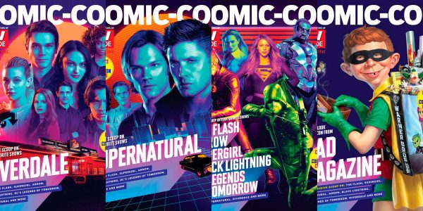 NINTH ANNUAL SDCC SPECIAL EDITION FEATURES FOUR COLLECTIBLE COVERS: DC SUPER HEROES — ARROW, BLACK LIGHTNING, DC'S LEGENDS OF TOMORROW, THE FLASH AND SUPERGIRL — PLUS RIVERDALE, SUPERNATURAL AND A […]