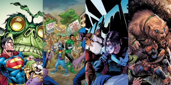 More Crazy Cross-Ups This Fall, Plus a Four-Part Backup Story Featuring Secret Squirrel This October, the mash-ups get weirder and wilder when DC unleashes more crazy combinations of the World's […]