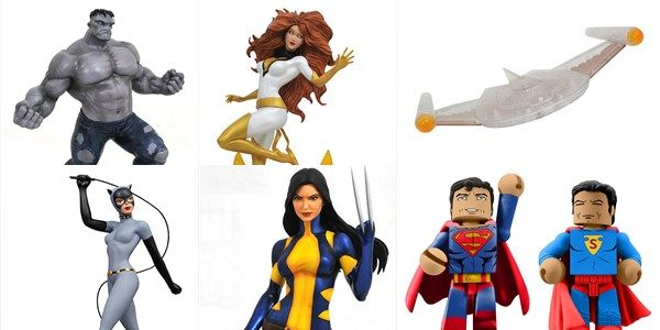 Comic-Con International is approaching, and from July 19-22 Diamond Select Toys will be in San Diego, showing off their upcoming products and of course offering exclusive items! With three new […]