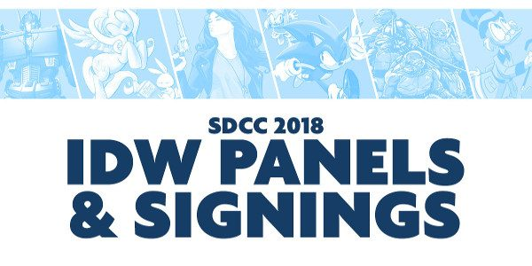 Booth #2743 Hosts the Superstars of Comics and Entertainment Every Day at SDCC! Once again making a splash at Comic-Con, IDW Publishing today announces the company's action-packed signing schedule, featuring exclusive […]