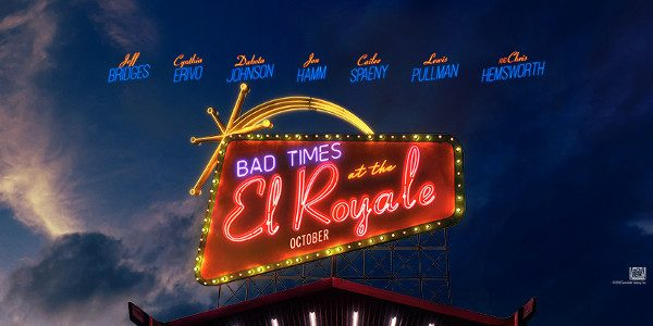 7 Strangers, 7 Secrets, 1 Connection. #ElRoyaleMovie 20th Century FOX has released new character posters for BAD TIMES AT THE EL ROYALE, the story of seven strangers who meet at Lake Tahoe's El […]