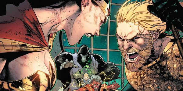 Earth is possessed by the Ultraviolet spectrum which is influenced by Sinestro, Grodd has trapped The Flash into the still force, unable to access his link to the speed force! […]