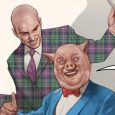 It's the meeting of two bald gents, with DC's release of Lex Luthor and Porky Pig!