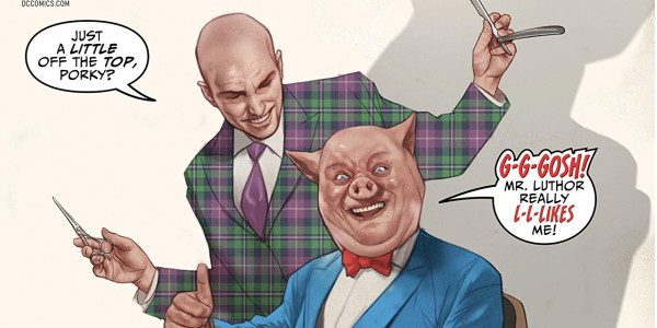 It's the meeting of two bald gents, with DC's release of Lex Luthor and Porky Pig! In this crossroad meeting of DC Comics' Lex Luthor and Looney Tunes' Porky Pig, […]