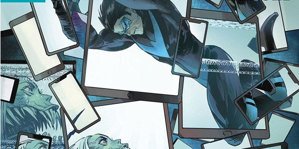 Nightwing enters the world of hackers, fake news, and terror, in DC's Nightwing Annual #1. Brightly written by Benjamin Percy, and beautifully illustrated by fan favourite Otto Schmidt, this is […]