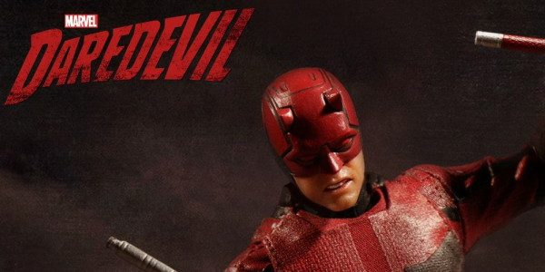 Matt Murdock is the Daredevil; lawyer by day, vigilante by night. The One:12 Collective Daredevil features two interchangeable head portraits capturing Matt Murdock's unforgiving nature as portrayed by Charlie Cox. […]