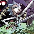 IDW Comics brings you a crossover of Adult Swim's show Rick and Morty, but now it's Rick and Morty vs. Dungeons and Dragons on its first issue.