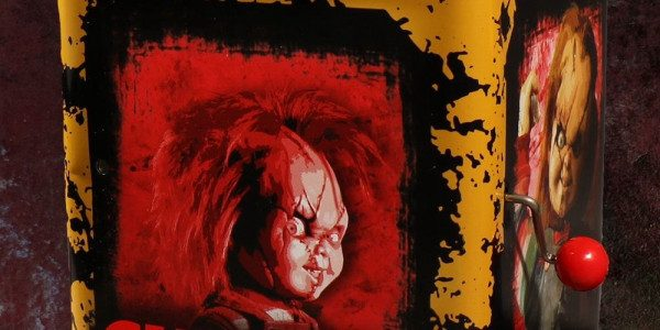Introducing Mezco's Burst-A-Box! A pop culture infused twist on one of the most beloved, classic toys, the jack-in-the-box. The Bride of Chucky Burst-A-Box features Scarred Chucky – the infamous homicidal […]