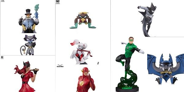 Best-selling statue lines DC Core, Batman: Black & White and Harley Quinn: Red, White and Black add new characters in April 2019 Next spring DC Collectibles will unleash new DC […]