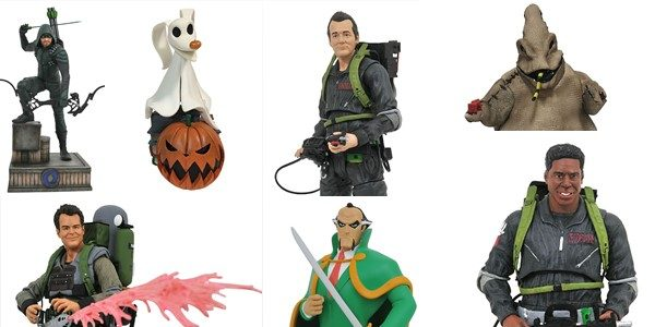 Halloween may not be here yet, but that didn't stop a horde of horror- (and hero-) related items from shipping to comic shops this week! The Ghostbusters and Tim Burton's […]