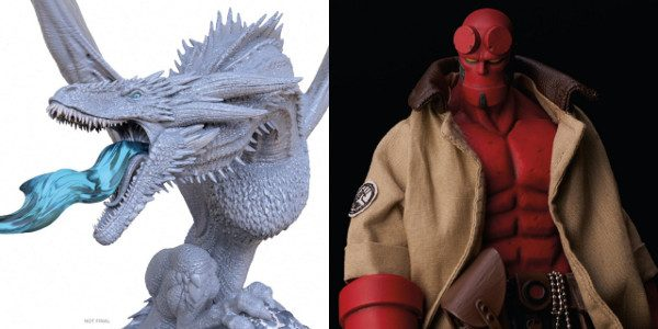 DH Direct Excited to Add the Hellboy Action Figure and Game of Thrones: Ice Dragon & The Night King Premier Statue to its Line As revealed at San Diego Comic-Con, […]