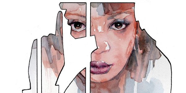 DC Comics brings us a thriller spy comic book about… comic books! Cover, issue #1, from DC, pairs writer Brian Michael Bendis and artist David Mack in this story about […]